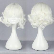 Hot! 2017 short Long Curly Wavy Hair Full Wigs Harajuku Anime Cosplay Party Wig