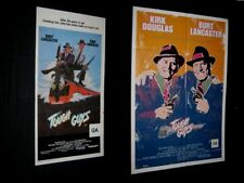 Original TOUGH GUYS Australian Daybill & O/S BURT LANCASTER KIRK DOUGLAS N/MINT