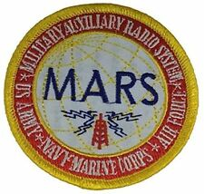 MILITARY AUXILIARY RADIO SYSTEM MARS PATCH US ARMY USAF AIR FORCE