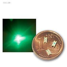100 SMD LED 1206 verde, Verde Mini LED smds SMT green vert GROENE Verde Verde