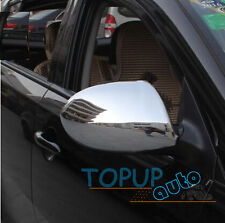 FIT FOR 2011~ 2013 KIA SPORTAGE DOOR SIDE MIRROR CHROME COVER REARVIEW TRIM