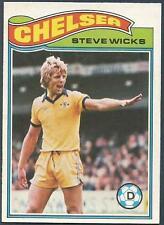 TOPPS 1978 FOOTBALLERS #193-CHELSEA-STEVE WICKS