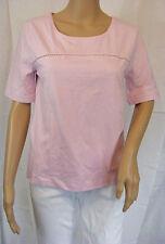 ★ PREGO ★ L ~ rosa ~ Shirt T-Shirt kurzarm ~ NEU