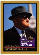 George Halas #55 Enor Pro Football H.O.F 1991 American Football Card (C562)