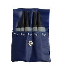 """Unidad de latón Rdgtools 5PC Pin Punch Set Uñas Punch 1/16"""" - 5/16"""" herramientas taller"""