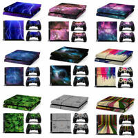 Playstation 4 PS4 Console Skin Decal Sticker  +2 Controllers Skin -9 types