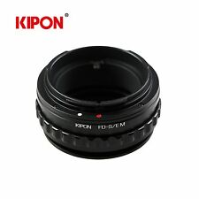 Kipon Adapter with Helicoid Macro Tube for Canon FD Lens to Sony E Mount Camera