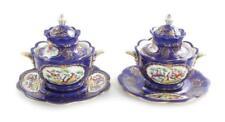 French decorated-porcelain tureen set (4pcs) Lot 113