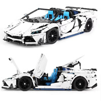 Technic SVJ Roadster Car 42056 42083 42099 42110 Building Blocks Bricks MOC