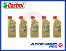 5L OLIO MOTORE CASTROL EDGE 5W40 FST TITANIUM C3 BMW 04 VW 50500 50501 MB 229.31