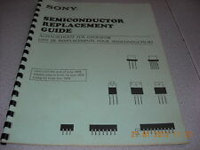 SONY Semiconductor Replacement Guide