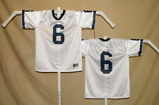 PENN STATE NITTANY LIONS  Nike  #6  FOOTBALL JERSEY  Youth Large  NwT  white