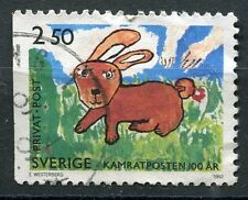 TIMBRE SUEDE SVERIGE LAPIN
