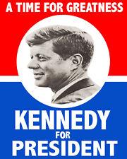 John F. Kennedy JFK Kennedy For President 1960 Presidential Campaign 8x10 Photo