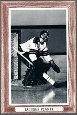 1964-67 Beehive Hockey Premium Group 3 New York Rangers #146 Jacques Plante