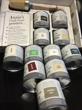 Annie Sloan Paint Project Kit -1 Brush +4 x 120ml tins of Paint-pick your colour