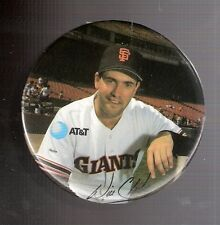 1990 AT&T 3-Inch Pin-Back Button Will Clark San Francisco Giants