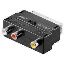 Audio-/Video-Adapter Scart-Stecker an 3x Cinch-Buchse