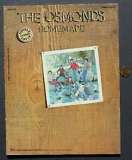 1971 The Osmonds Homemade pictorial songbook-Double Lovin'-Vintage Photos-Cool!*