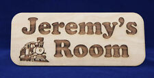 Wooden Engraved Decorative Plaques & Signs