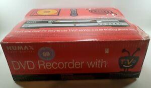 Humax DVR Model DRT800 TiVo  Series 2 80-Hour w/ DVD Recorder & Remote NIB!