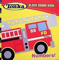 Tonka Bloque Tablero Libros Números Moderno Editorial