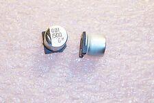 QTY (20) 1500uf 6.3V 105' LOW IMPEDANCE SMD ELECTROLYTIC NACZ152M6.3V10X10.5