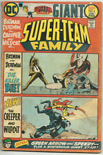 Super-Team Family #2 GD Jan 1976 Batman Deadman Creeper Wildcat Green Arrow DC
