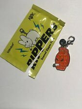 Kidrobot Kozik Rippers Orange Grenade Enamel Zipper Pull CHASE Dunny Smoking