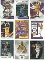 25 Different LEBRON JAMES Premium card lot/set Select Prizm OIptic Winter Lakers