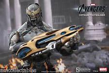 Sideshow Hot Toys - Marvel Avengers Chitauri Footsoldiers - 1/6 Figurine Neuf /