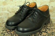 "DR ""DOC"" MARTENS ENGLAND 8452 MEN'S BLACK OXFORD DRESS SHOES SIZE 7US/6UK EUC!"