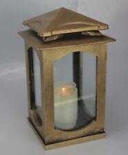 Grablaterne Grablampe Grableuchte Bronze Grabschmuck modern inkl Grablicht Kerze