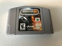 Asteroids Hyper 64 - Nintendo 64 N64 - Cleaned & Tested