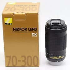 BRAND NEW Nikon AF-P DX NIKKOR 70-300mm f/4.5-6.3G ED Black Lens Boxed