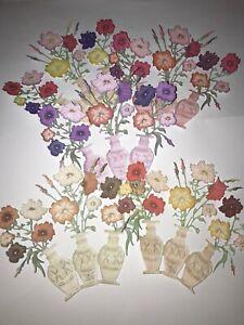Tattered Lace 3D Vintage Botanicals 2 Petunia Flower Die Cuts