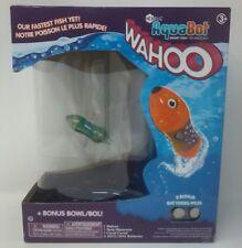 HexBug Wahoo AquaBot Smart Fish Technology Green Fish and Bowl