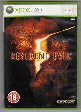 (GW228) Resident Evil 5 - 2009 - Xbox 360 Game