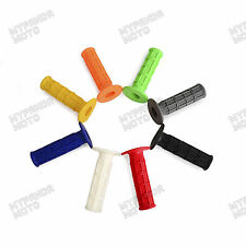 "100% New Dirt Bike Motorcycles Soft Rubber 7/8"" 22mm Hand Grips Hand Pro Grips"