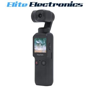 Feiyu Pocket 3-Axis Handheld Gimbal Stabilizer 4K Camera WiFi Rotating