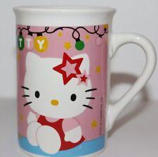 Hello Kitty by Sanrio Ceramic Coffee Mug 1976, 2014 Double Sided Design Holiday