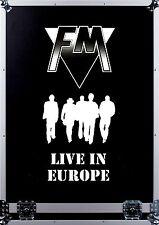 FM - Live In Europe DVD   MEGA RARE AOR
