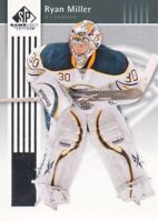 2011-12 SP Game Used Hockey #13 Ryan Miller Buffalo Sabres