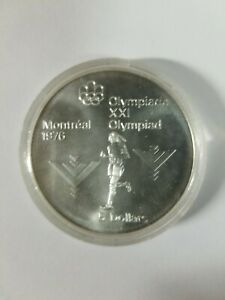 Olympics 1976 Silver Coin 5 Dollar Uncirculated PR-70