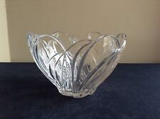 "Lenox Arctic Bloom 8"" Lead Crystal Bowl"