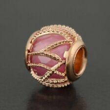 NEW Genuine Pandora Silver Rose Intertwining Radiance Pink CZ Bead 781968PCZ