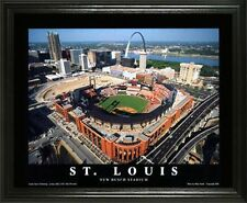 ST LOUIS CARDINALS @ THE NEW BUSCH STADIUM 22X28 FRAME