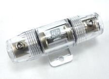 New listing Phoenix Gold Fh.501K 4 Or 8 Gauge Fuse Holder W/ 30 Amp Agu Fuse ~ High Quality!