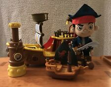 """Jake And The Neverland 16"""" Pirates Ship, Talking Periscope, Captain Hook Ship +"""