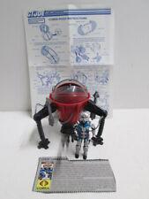 GI Joe Cobra Pogo Ballistic Battle Ball with Cobra Commander Battle Armor